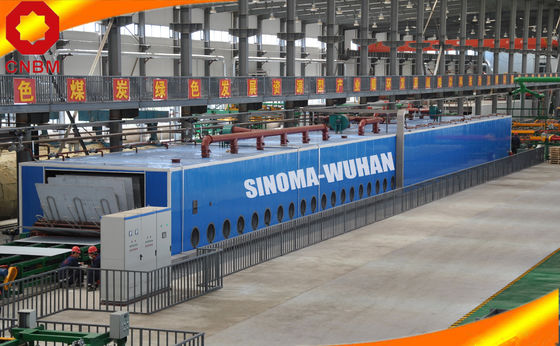 2000KW Power Calcium Silicate Board Production Line Water Resistance 200T Weight