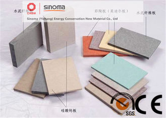 Non Asbestos 12mm Compressed Fibre Cement Sheet Waterproof Pressed Board