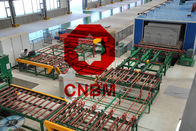 Smooth Surface Fiber Cement Board Production Line High Production Capacity