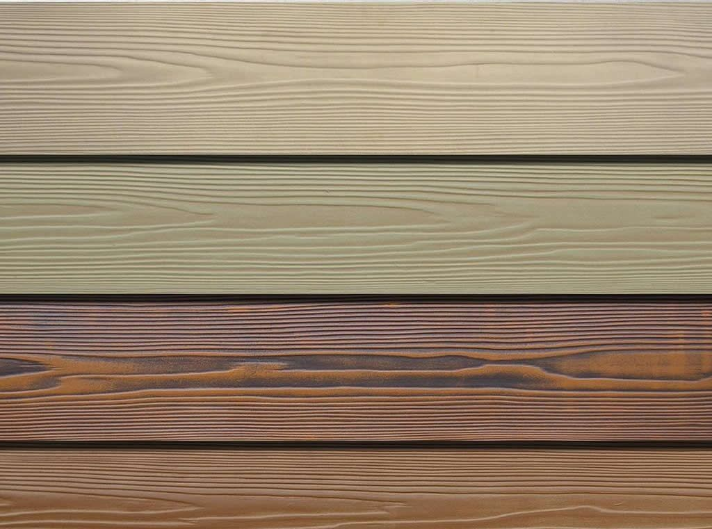 Wood Cement Board : Wooden grain fibre cement cladding boards mm width